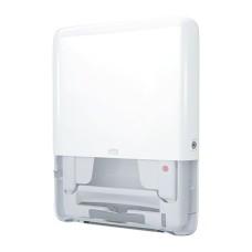 552550 - H5 - Tork PeakServe® Mini zásobník na nadväzujúce papierové utierky na ruky - biely plast