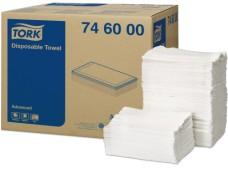 746000 - Tork utierky na utieranie pacientov 5-vr, 30 x 70 cm, cena za balenie 250 útržkov